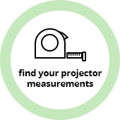 Find Your Projector Measurements
