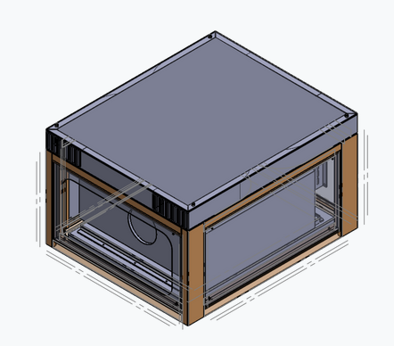 Hush Box Projector Enclosure