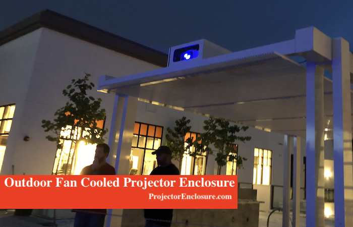 Outdoor Apartment Projector Enclosure