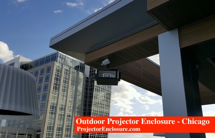 Hotel Outdoor Projector Enclosure Chicago