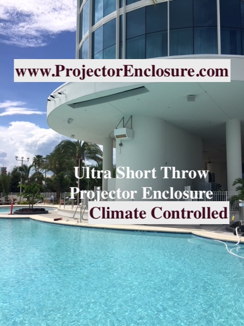 UST Projector enclosure - Ultra Short Throw