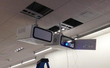 indoor projector enclosures